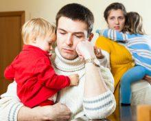 Определение места жительства детей при расторжении брака родителей