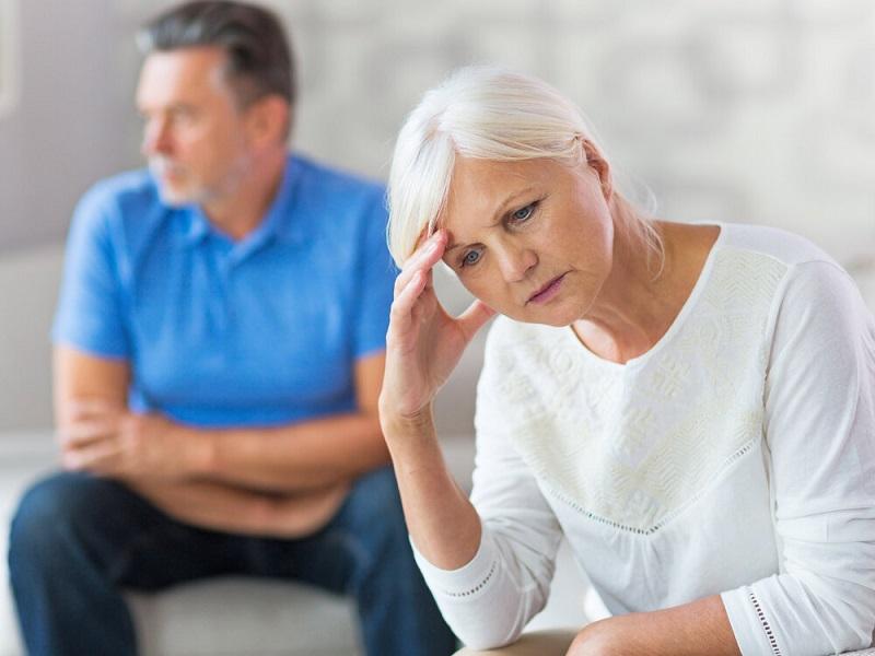 Развод пенсионеров