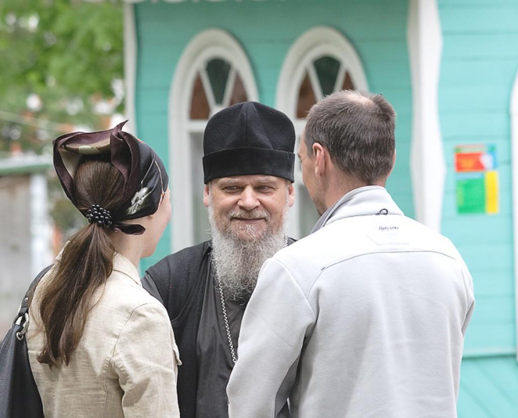 Беседа со священником