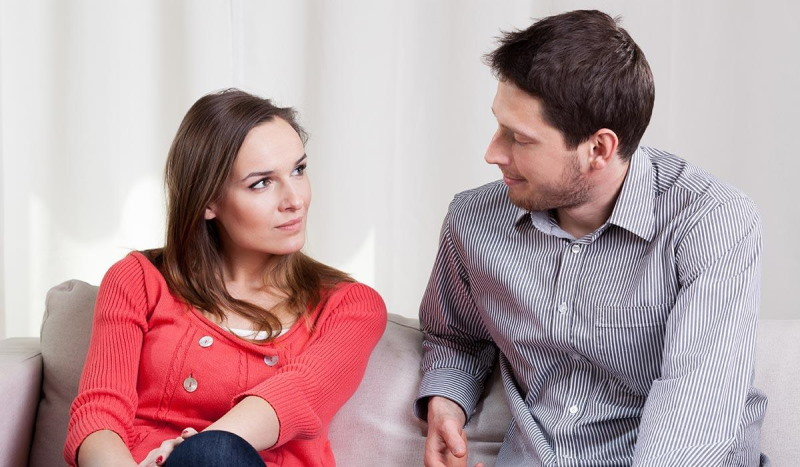 Определение порядка общения по согласию мужа и жены