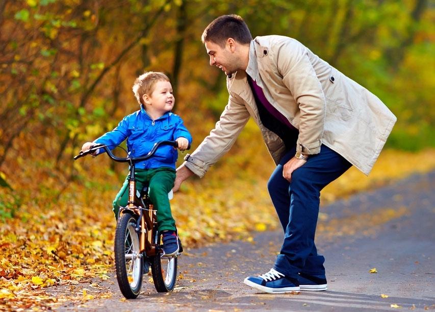 Прогулка с отцом