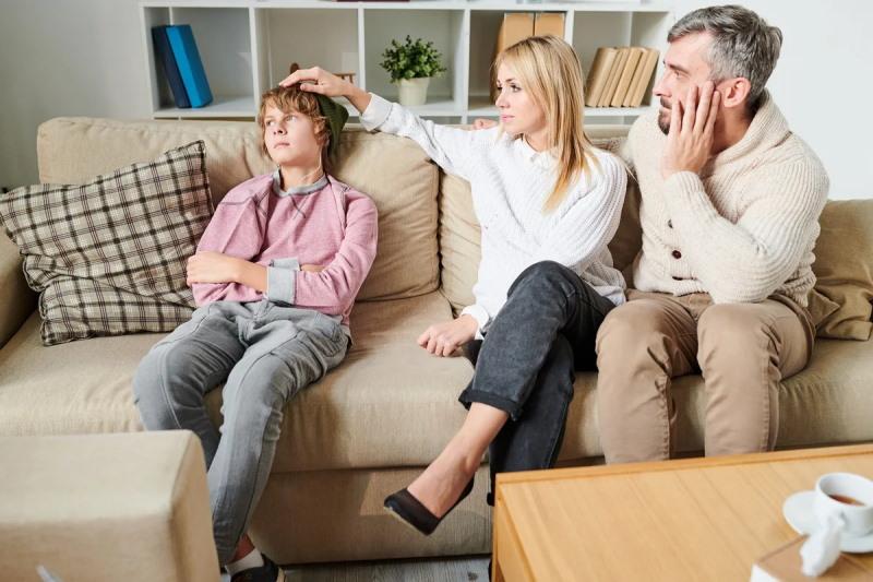 Разговор родителей с подростком