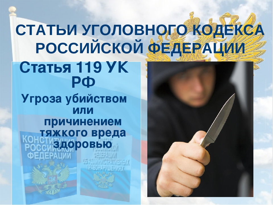 Статья 119 УК РФ