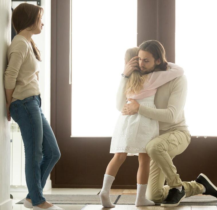 Встреча дочери с отцом